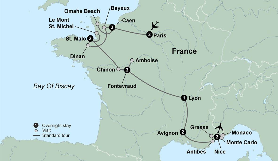 France Travel Packages Collette France Magnifique