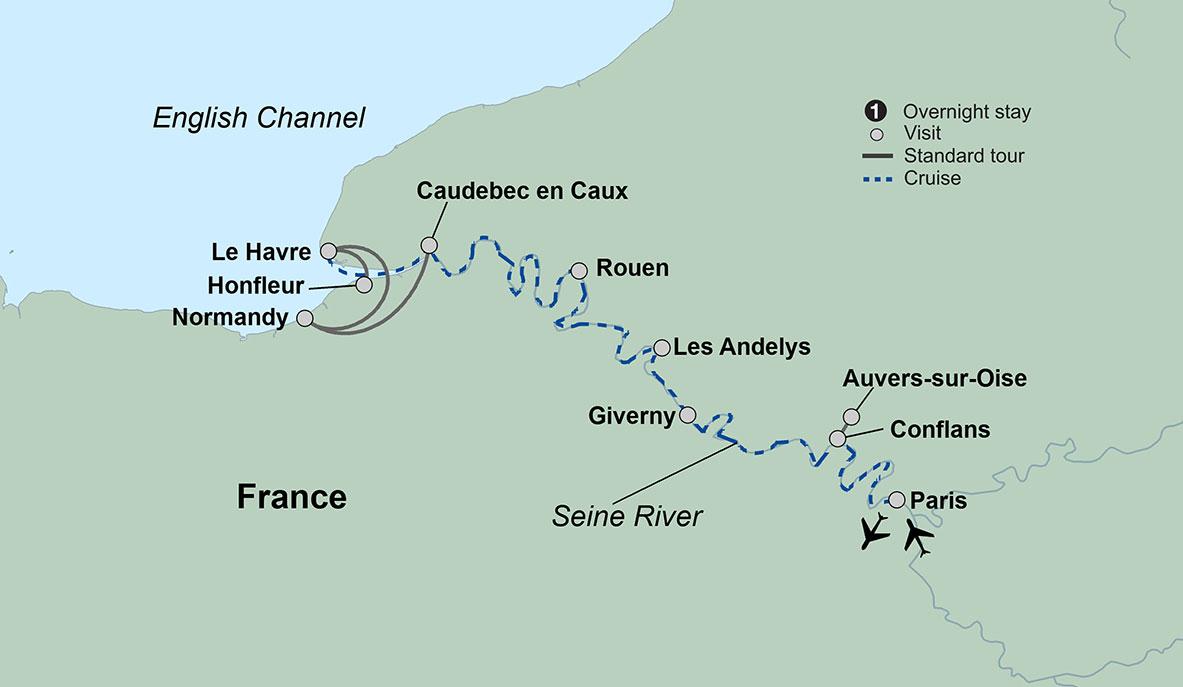 La Belle Seine featuring Paris and Normandy | Travel Tours | Collette