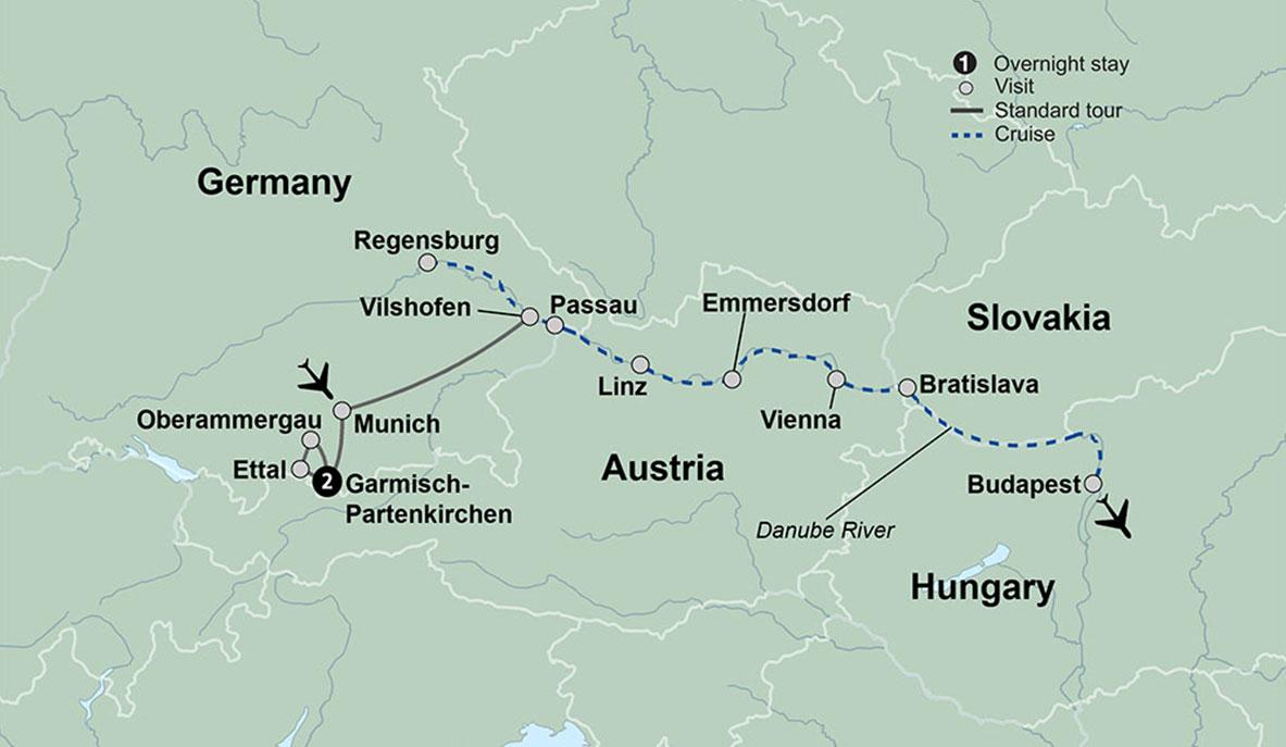 Danube Cruise | Danube Tour | Collette Clic Danube on