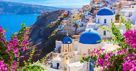 Greece Island Hopper Featuring Athens Mykonos And Santorini