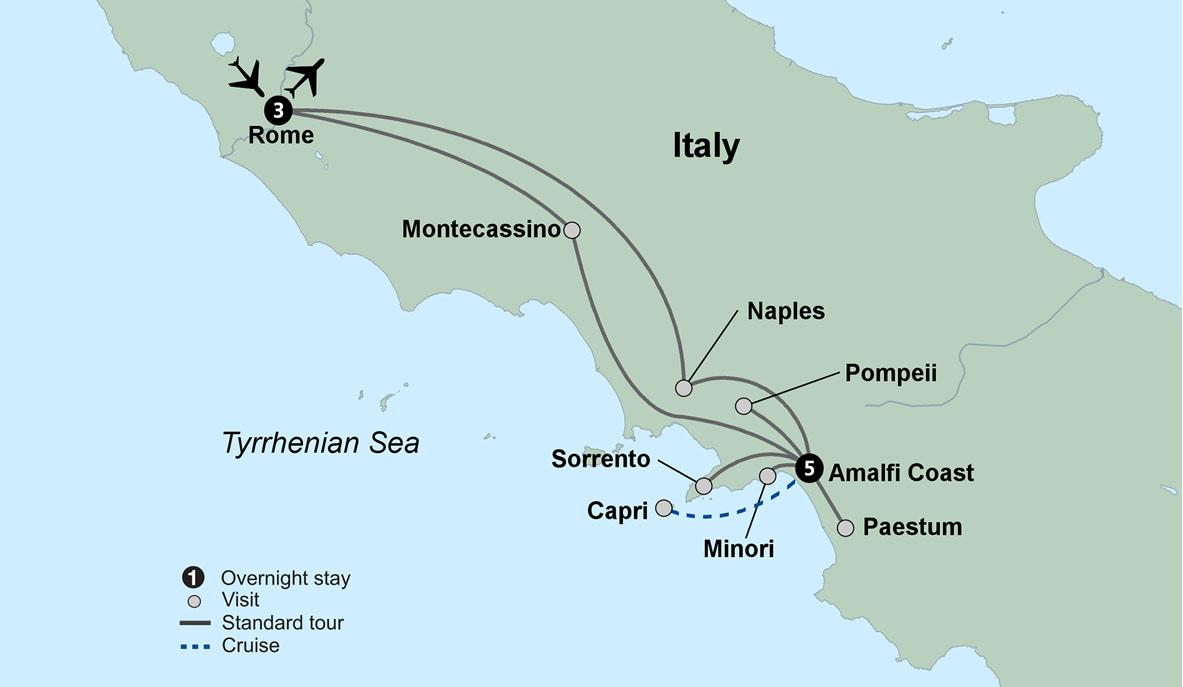 Amalfi Coast Tours Visiting The Amalfi Coast With Collette