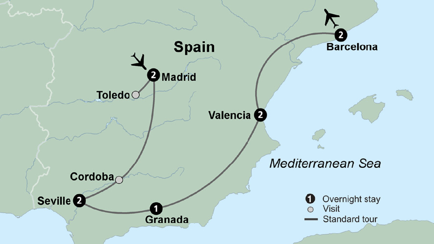 Spain Tour Packages and Trips to Spain   Collette
