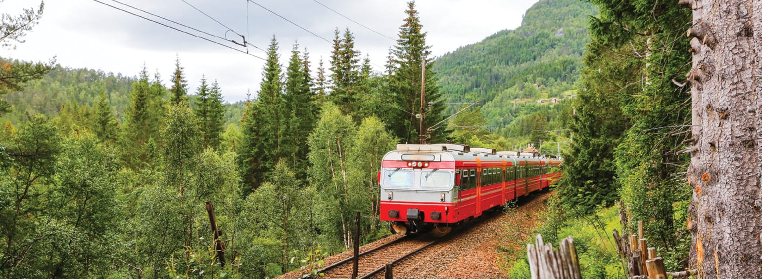 Alpine Lakes & Scenic Trains