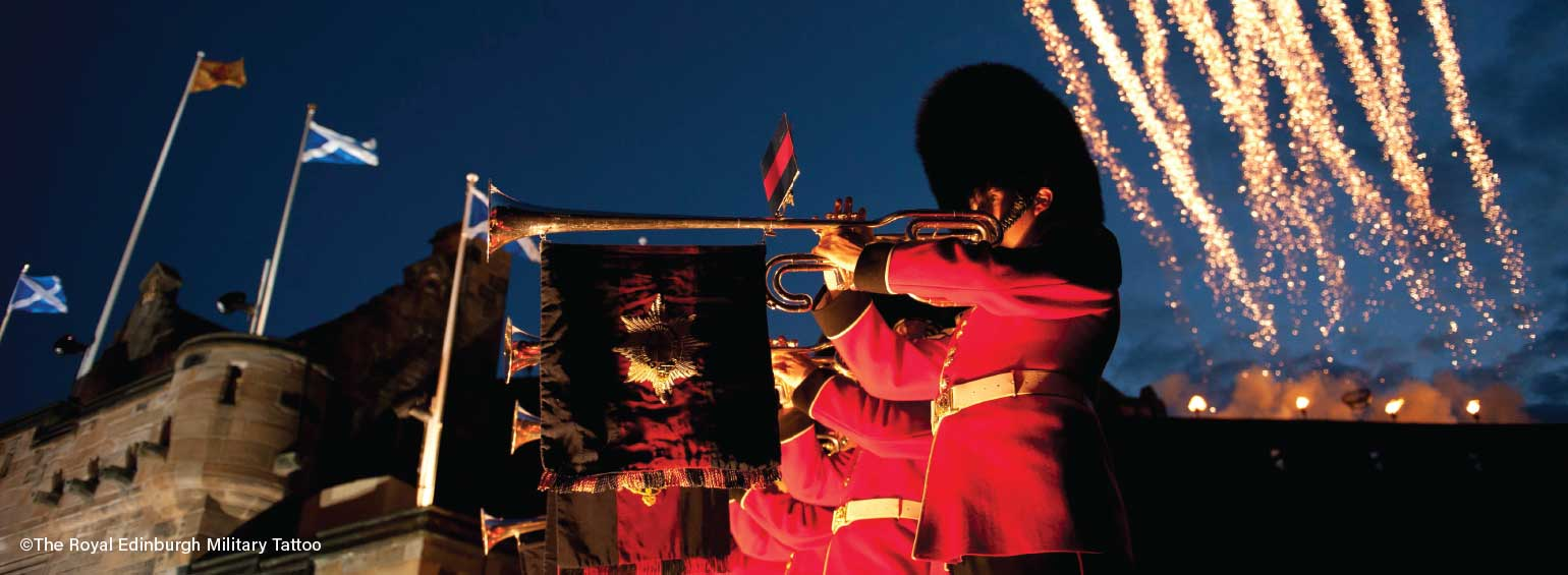 Discover Scotland featuring the Isle of Mull & Royal Edinburgh Military Tattoo
