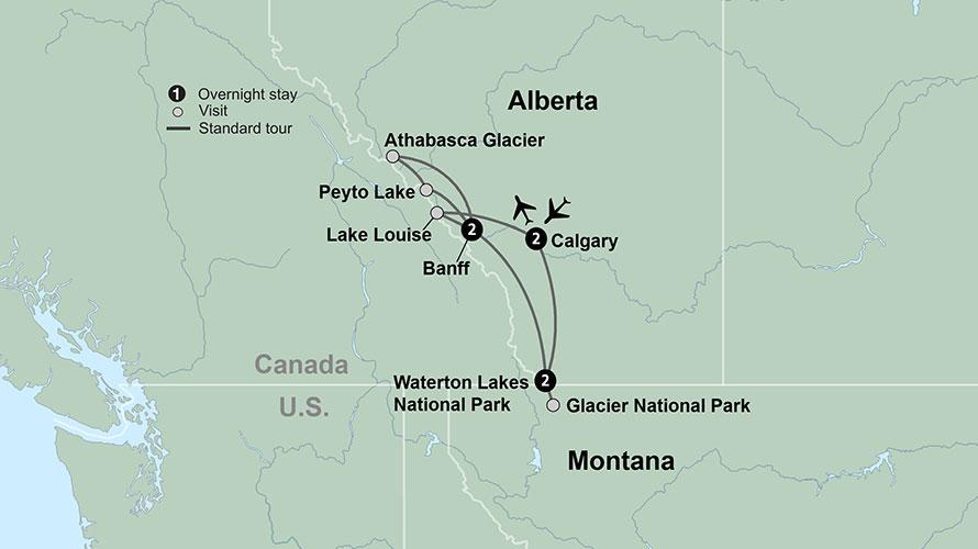 Canada Glacier National Park Tours | Collette