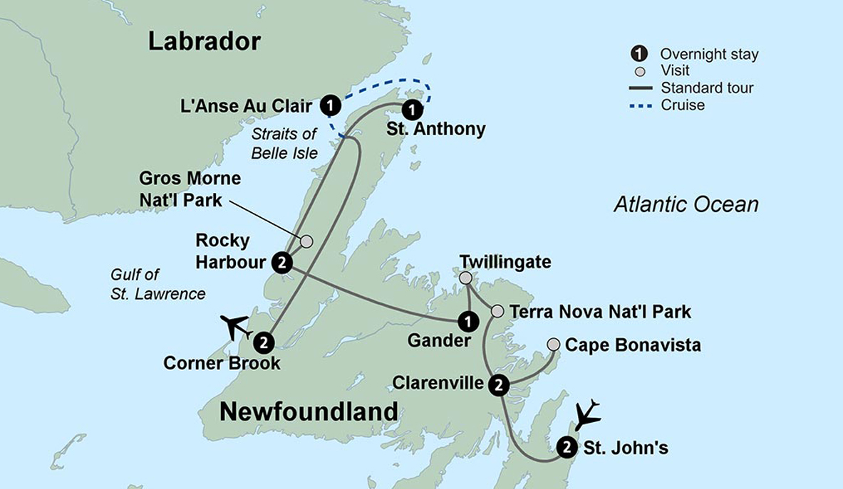 Surprising Newfoundland Travel Tours Of Newfoundland Collette Download Free Architecture Designs Lukepmadebymaigaardcom
