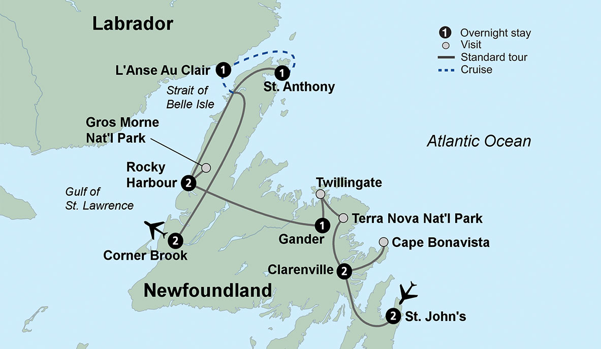 Incredible Newfoundland And Labrador Discovery Travel Tours Collette Download Free Architecture Designs Lukepmadebymaigaardcom