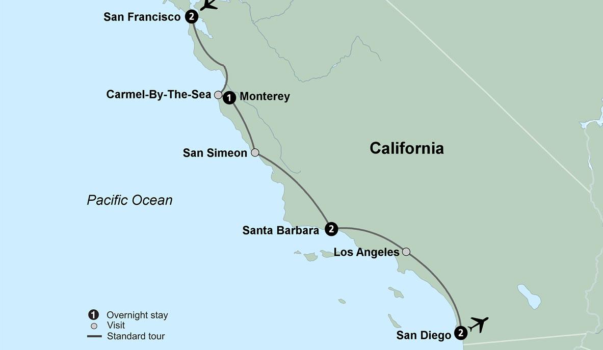 California Coast Tours, Travel California Coast - Collette on