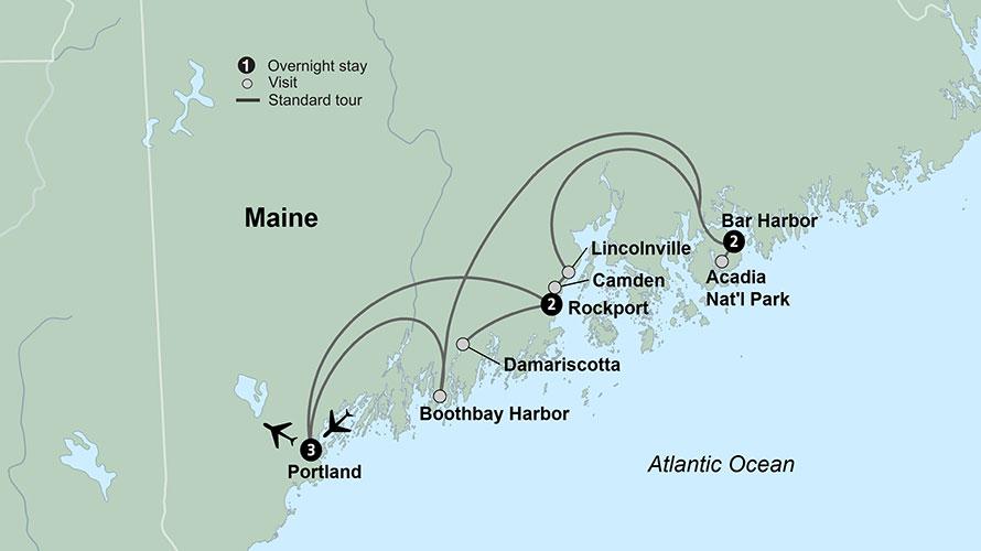 Roaming Coastal Maine featuring Portland, Acadia & Penobscot