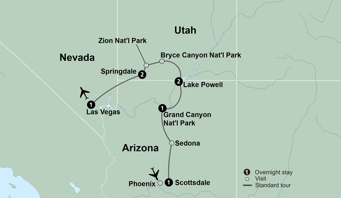 Arizona Travel, Utah Vacation, Arizona Tour, Utah Travel - Collette