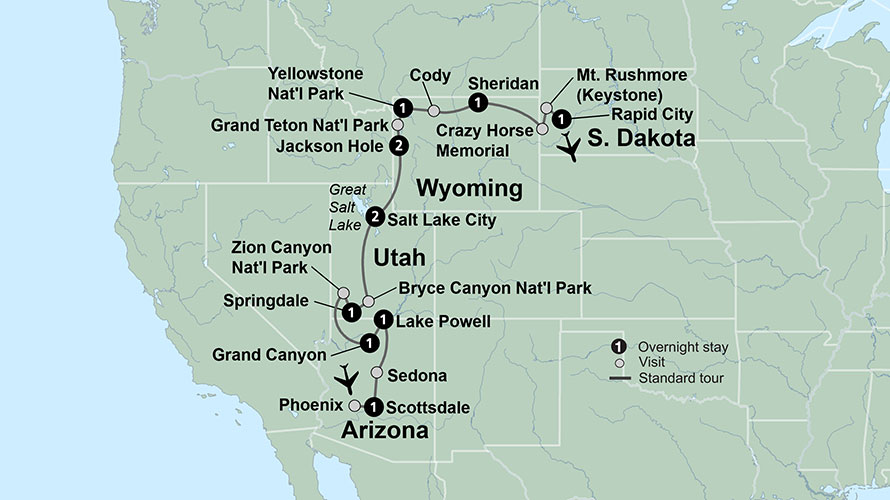 National Parks of America | USA National Parks Tours