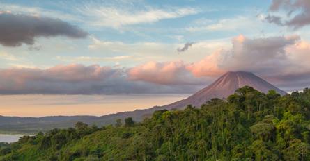 TropicalCostaRica Day6 Monteverde LakeArenalCruise Arenal
